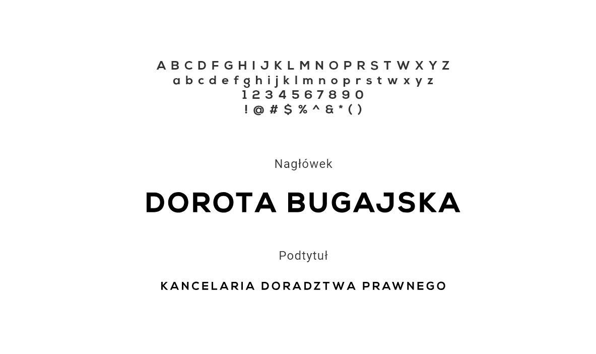 typografia logotypu