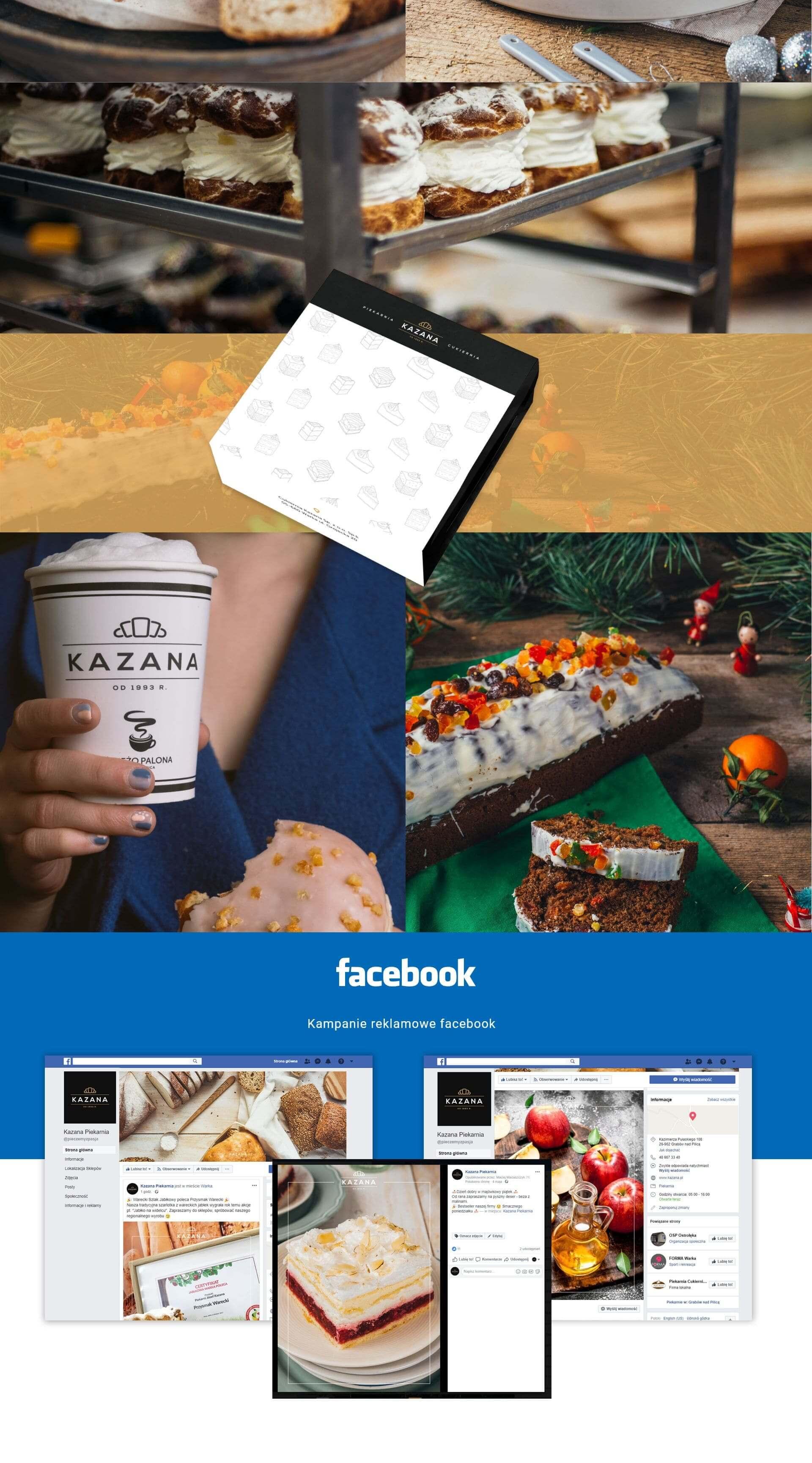 kubki na napoje, media społecznościowe