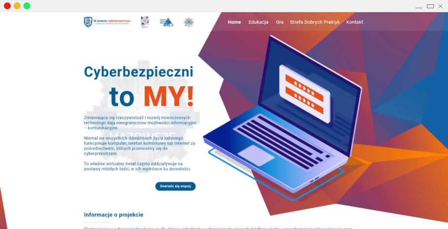 projekt strony