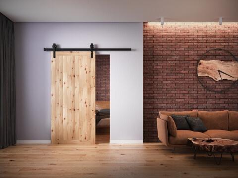 drzwi loftowe rendery